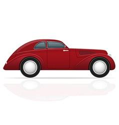 old retro car 05 vector image