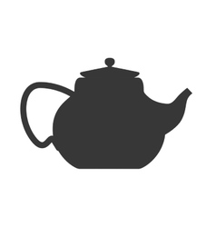 Kettle or pot icon tea drink design vector
