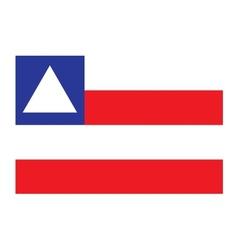 Bahia flag vector