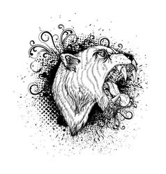 vintage t shirt design vector image vector image