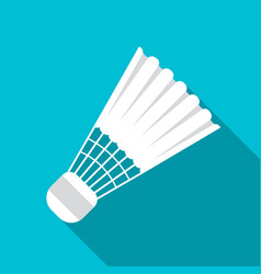 Sports objects for badminton vector