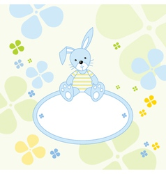 Bunny Rabbit Background vector image