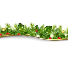 Christmas background with border vector