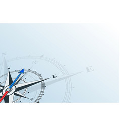 compass northeast background vector image