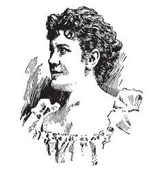 Lillian nordica vintage vector