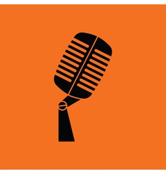 Old microphone icon vector image vector image