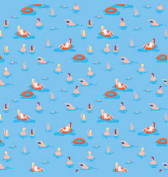 Summer pattern print sea summer pattern print vector