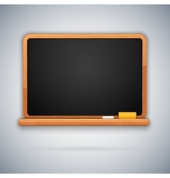 School blackboard vector