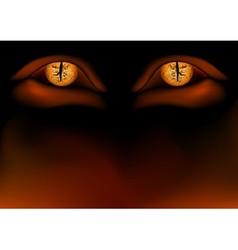Demon eyes vector