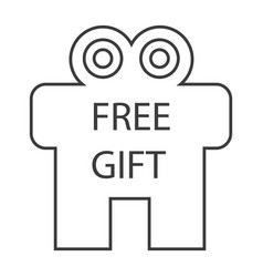 Free gift vector