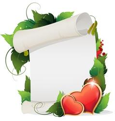Valentines Day Invitation vector image