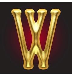 Golden figure vector