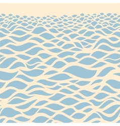 Sea background Hand drawn vector image