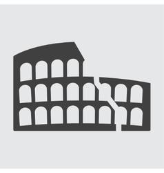 Colosseum icon vector image vector image