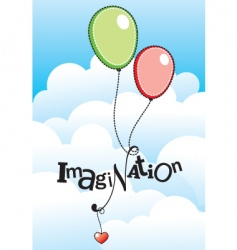 imagination vector image vector image
