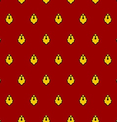 Royal seamless pattern for mantle for king vector