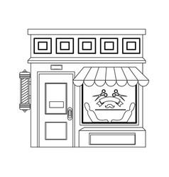 shop store cartoon vector image