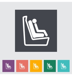 Baby seat 2 vector image