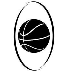Basketball 3 vector image vector image