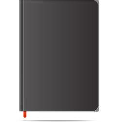 new dark diary vector image