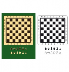 Chessboards vector
