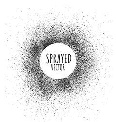 Frame spray texture vector