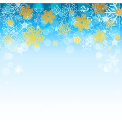 Winter light blue background vector