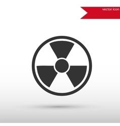 Radiation icon  danger concept vector