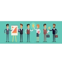 Business people concept in vector