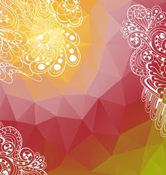 PolygonBackground04 vector image