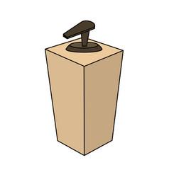 Soap dispenser icon image vector