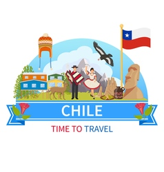 Chile Composition vector image
