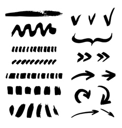 Brush stroke vector