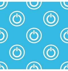 Power sign blue pattern vector