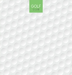 golf ball texture background vector image vector image