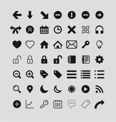 Icon material vector