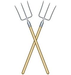 Pitchforks vector