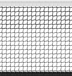 seamless tennis net vector image vector image