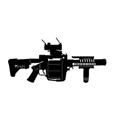 Isolated weapon vector