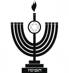 Symbol of hanukkah vector