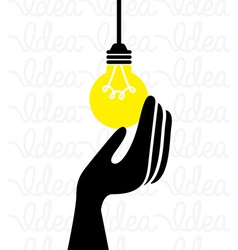 Bulb light vector