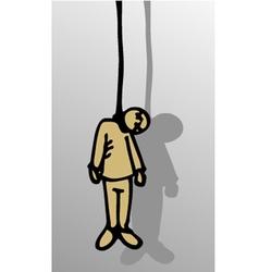 Dead puppet vector