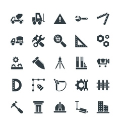 Construction cool icons 3 vector