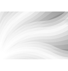 Abstract light grey wavy pattern background vector