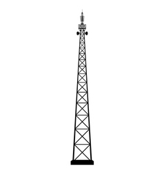 broadcasting antenna vector image