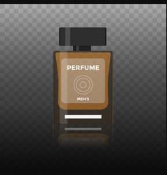flat icon of men perfume vector image vector image
