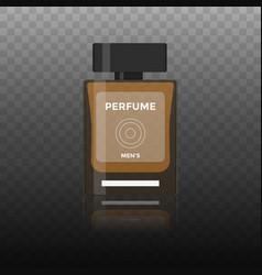flat icon of men perfume vector image vector image