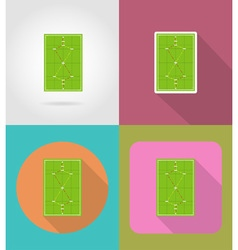 Sport flat icons 49 vector