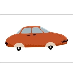 Toy Car a vector image