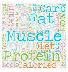 Protein is not the best food to build muscle text vector